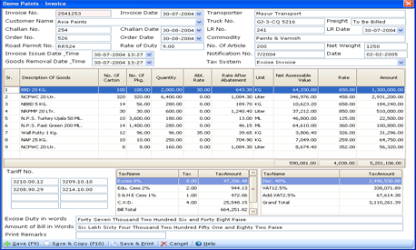 indian tax invoice software free download